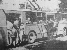 Տրանսպորտը Երևանում: 1993թ.